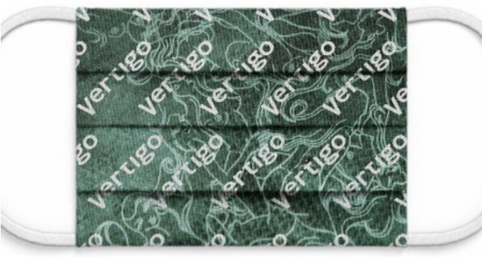 "Maske: ""Vertigo Multi"" grün"