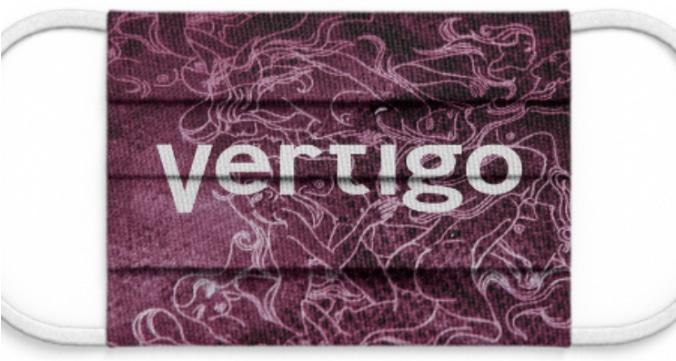 """Maske: """"Vertigo"""" lila"""